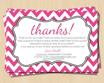 Avon Thank You Card Etsy
