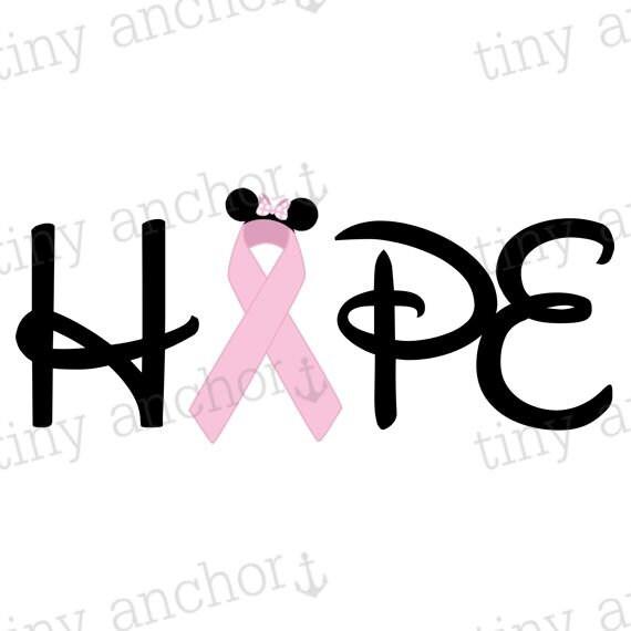 Printable Breast Cancer Awareness Month October Pink Ribbon