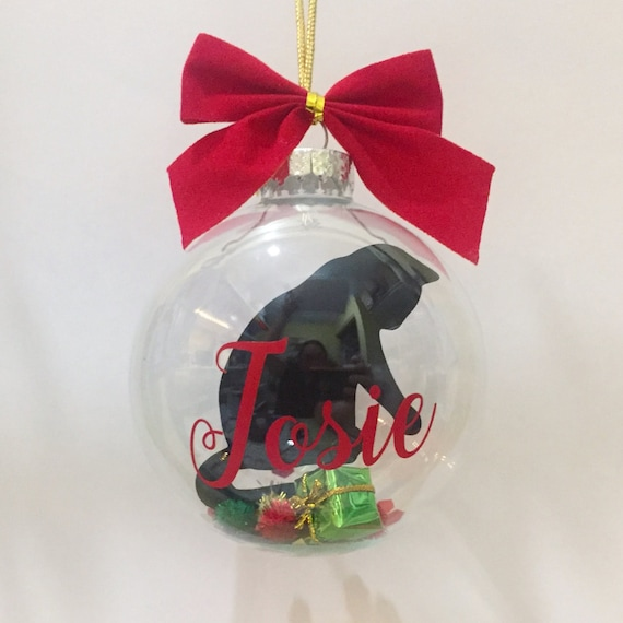 image 0 - Black Cat Christmas Ornament