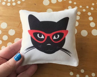 Cute Catnip Toy Pillow, Catnip Pillow, Cat Toy, Cat Pillow