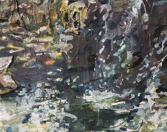 Step Falls painting in Scranton, PA