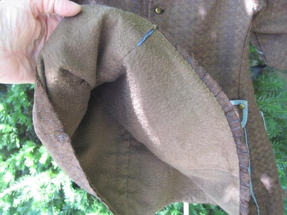 Antique Boy's Coat / Tunic or Frock  / Antique Cl… - image 9