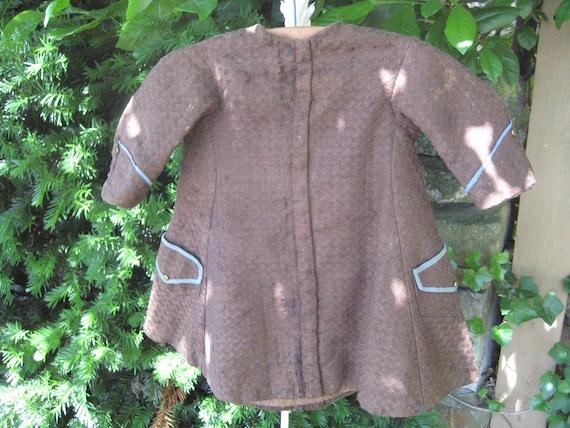 Antique Boy's Coat / Tunic or Frock  / Antique Cl… - image 3