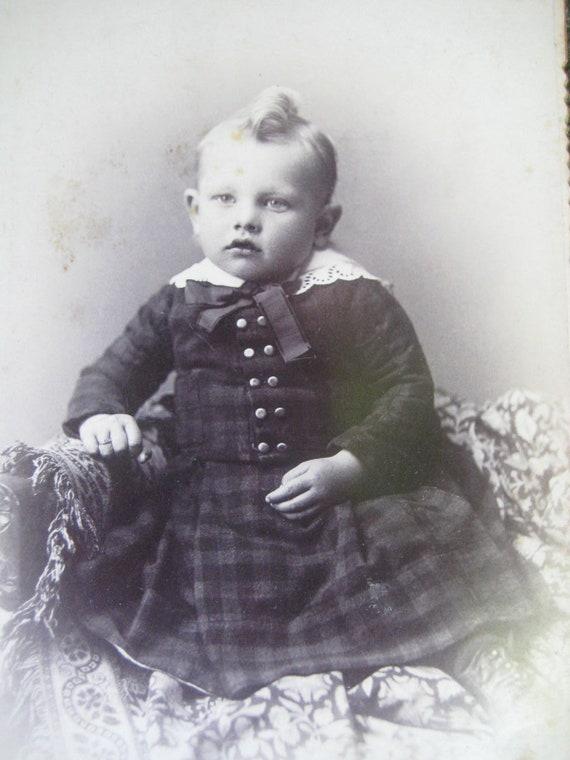 Antique Boy's Coat / Tunic or Frock  / Antique Cl… - image 2