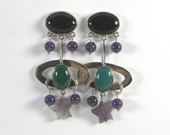 Galaxy Aesthetic Earrings Space Age Love Song