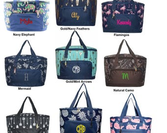 Personalized insulated Market basket, coolers great for picnics, car trips, going to the beach.