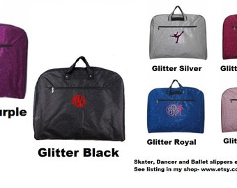 d0d80e27fd82 Glitter Personalized Garment Bag.