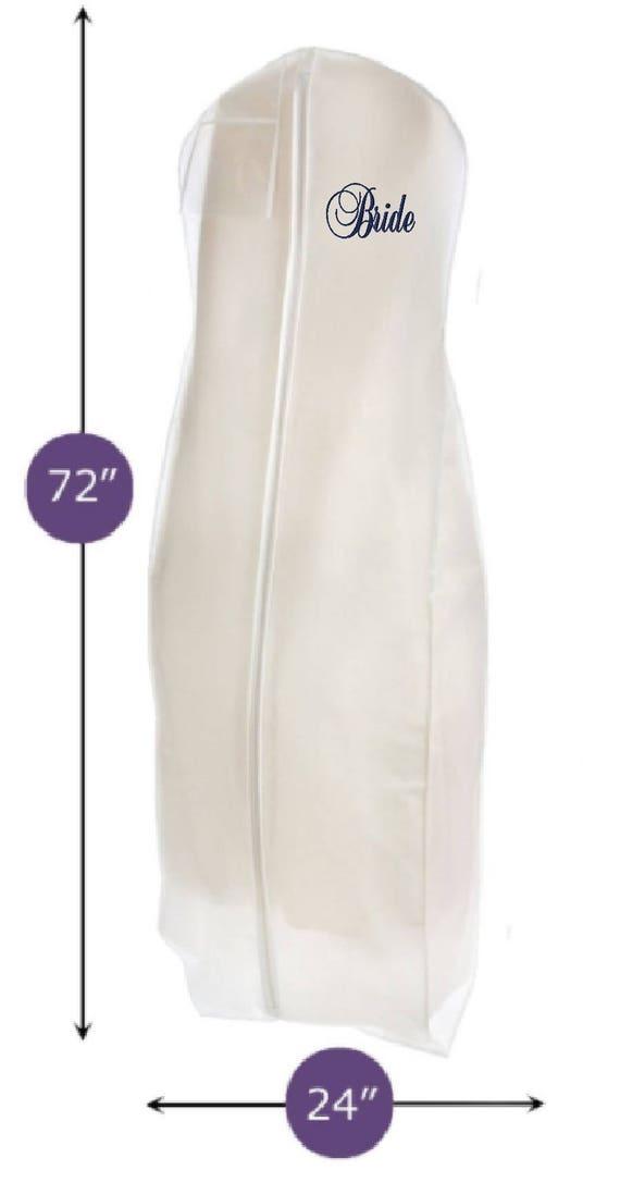Large Breathable Durable Bridal Wedding Gown Garment Bag Etsy