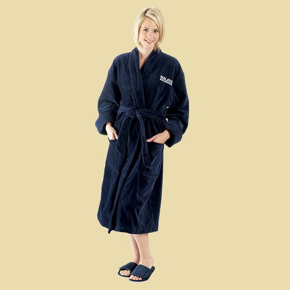 Personalized Robes for Women s and Men s Plush Velour  b2643dd66