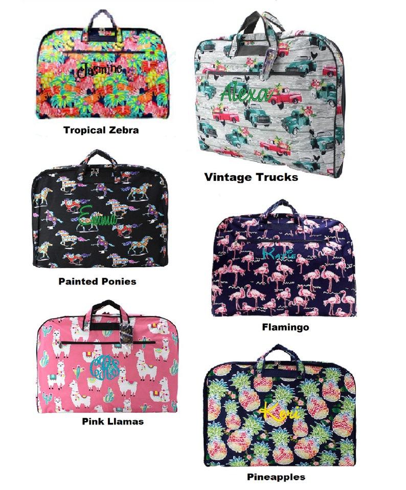 Beautiful Personalized Garment Bag. Many new beautiful image 0
