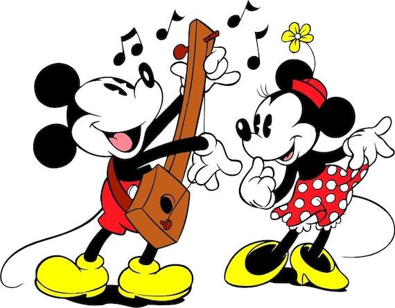Schema Punto Croce Disney Topolino E Minnie Etsy