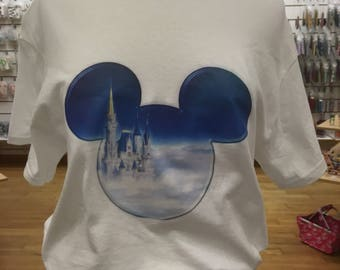 Disney Castle tshirt you choose color and size