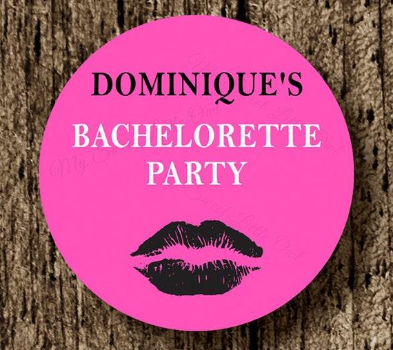 graphic regarding Lip Printable named Bachelorette sticker - Bachelorette get together desire - celebration