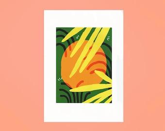 Orange A3 Limited Edition Digital Print