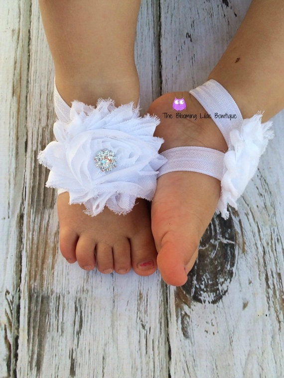 baby footless sandals