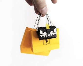 Italian Sharp Toothed Monster Handbag