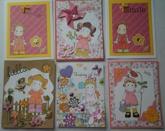 Magnolia Tilda cards unique designs friendship note cards