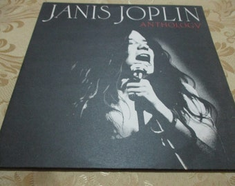9adbffba12 Vintage 1980 Vinyl LP Record Janis Joplin Anthology Greek Import Pressing  Near Mint Condition 18374