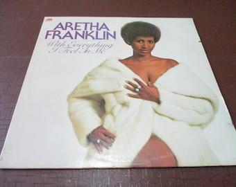 ARETHA/'S GOLD/' record album Dollhouse 1:12 scale Miniature  /'Aretha Frankin
