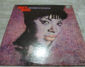 Rare 1965 Vinyl LP Funk Soul Record Love Songs to the Beatles Mary Wells Very Good Condition 21423