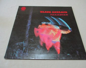 "Dollhouse Miniature Record Album 1/"" 1//12   Black Sabbath Ozzy Bloody sabbath"