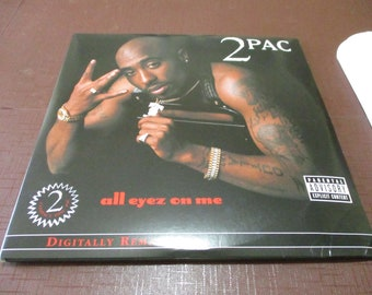 d8803ae146a Vintage Vinyl LP Hip Hop Record Set 2Pac All Eyez On Me Four Record Set 01  Digital Remaster Near Mint Condition 23384
