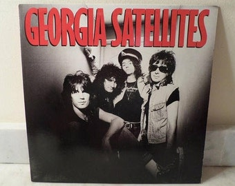 Vintage 1986 Vinyl LP Record The Georgia Satellites Self Titled Near Mint Condition 14450
