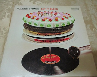Vintage 1969 LP Record Let It Bleed The Rolling Stones Excellent Plus Condition Stereo Version 16765