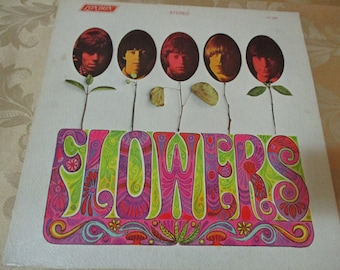 Vintage 1967 Vinyl LP Record Flowers The Rolling Stones Excellent Condition STEREO 16544
