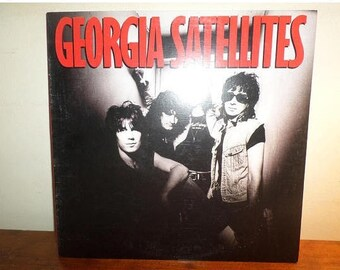 Vintage 1986 Vinyl LP Record The Georgia Satellites Self Titled Near Mint Condition 12565