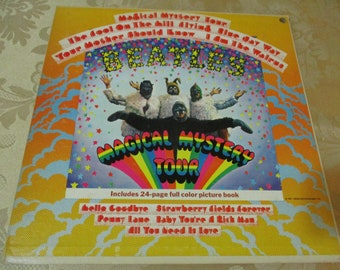 Vintage 1967 LP Record The Beatles Magical Mystery Tour MONO Near Mint Condition 16354