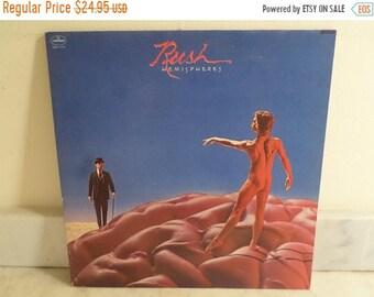 Vintage 1978 Vinyl LP Record Hemispheres Rush Excellent Condition 15981