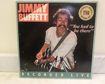 1981 LP Record Jimmy Buffett You Had to Be There Recorded Live Near Mint Condition 14137
