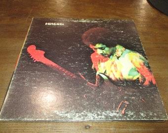 Vintage 1970 Vinyl LP Record Jimi Hendrix Band of Gypsys Very Good Condition 49897