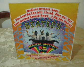Vintage 1967 LP Record The Beatles Magical Mystery Tour Stereo Excellent Plus Condition 16517