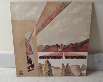 Vintage 1973 LP Record Stevie Wonder Innervisions Tamla Records Near Mint Condition 14947