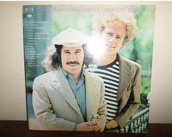 Vintage 1972 LP Record Simon and Garfunkel Greatest Hits Columbia Records 31350 Excellent Condition 13194