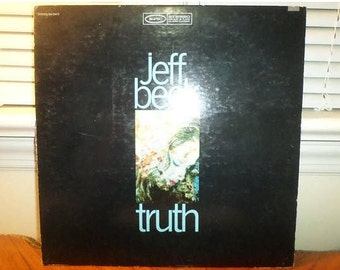 Vintage 1982 Vinyl LP Record Truth Jeff Beck Very Good Condition 13082