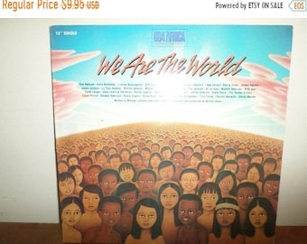 1985 LP Vinyl Record We Are The World USA for Africa The Historic Recording Near Mint Condition 12035