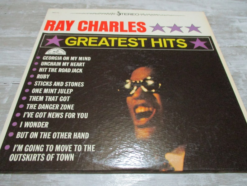 Vintage 1962 Vinyl LP Record Greatest Hits Ray Charles Excellent Condition  Stereo Pressing 20728