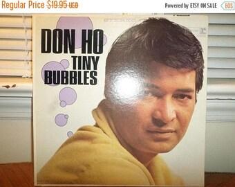 Vintage 1966 Vinyl LP Record Tiny Bubbles Don Ho Near Mint Condition 12896