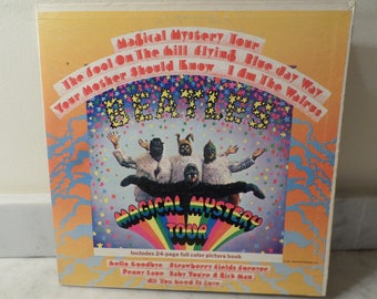 Vintage 1967 LP Record The Beatles Magical Mystery Tour Stereo Excellent Condition 14999