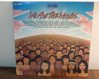 1985 LP Vinyl Record We Are The World USA for Africa The Historic Recording Excellent Condition 15253