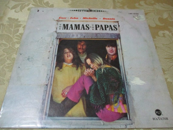 70bf17cb36 Vintage 1966 LP Record The Mamas and the Papas Self Titled | Etsy