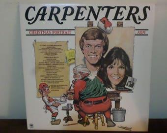 Rare 1978 Vinyl LP Record Christmas Portrait Carpenters Near Mint Condition 13679