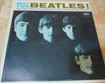 Vintage 1969 LP Record The Beatles Meet the Beatles Stereo Excellent Condition 16806
