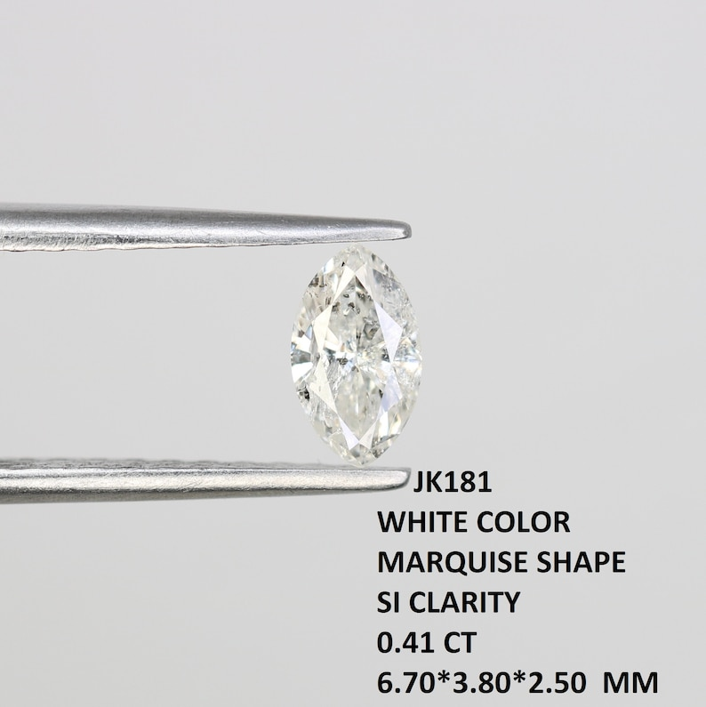 0.33 CT Marquise White Diamond For Engagement Ring