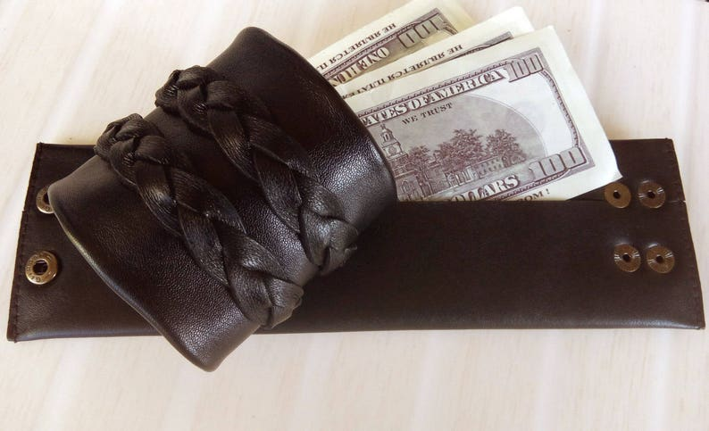 Travel Gift Genuine Leather Wallet for Trip