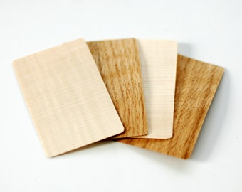 Wood business card etsy wood business cards wooden business cards blank wood tags blank wood cards reheart Images