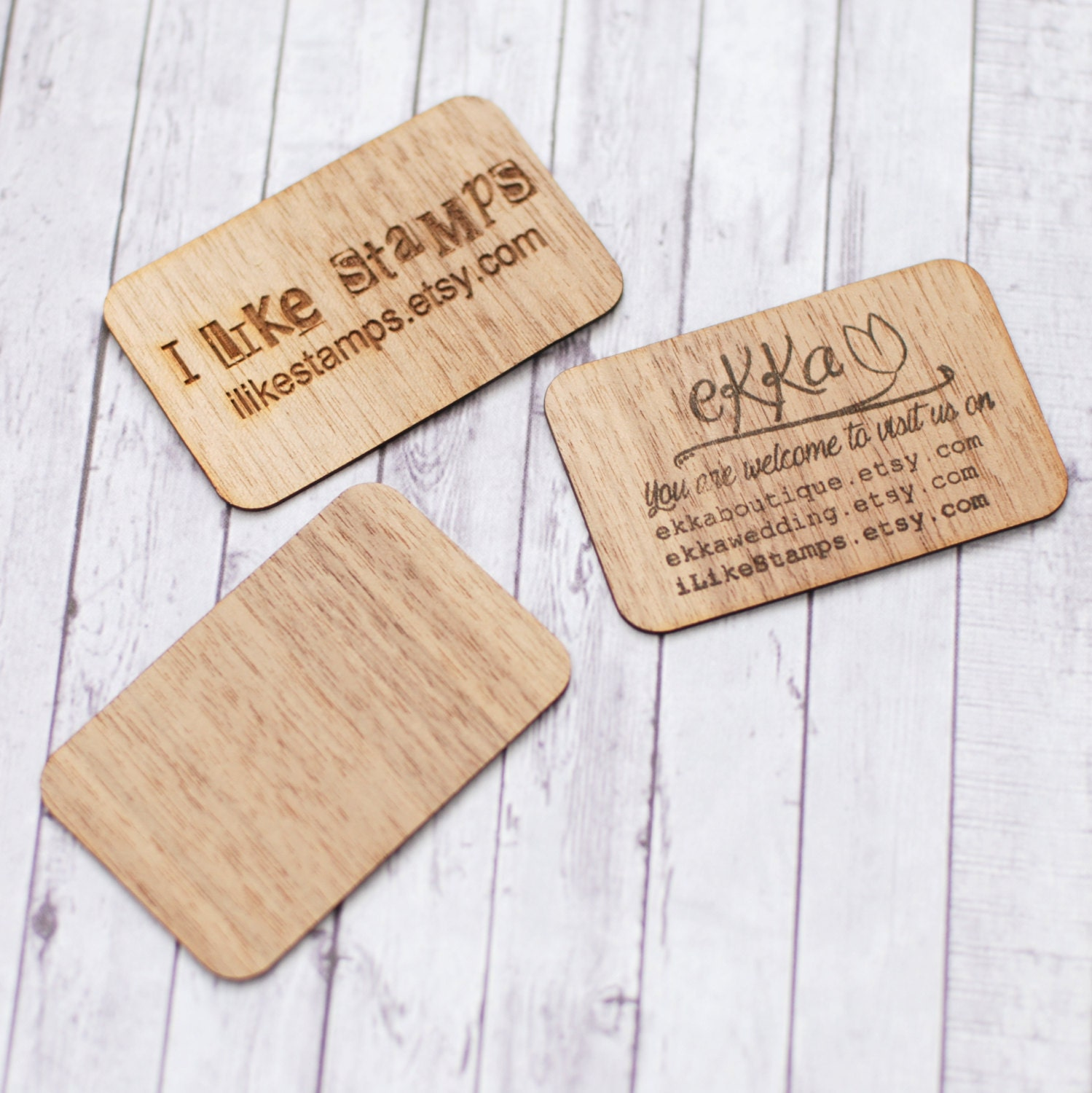 Wood business cards, Wooden business cards, Walnut business cards ...